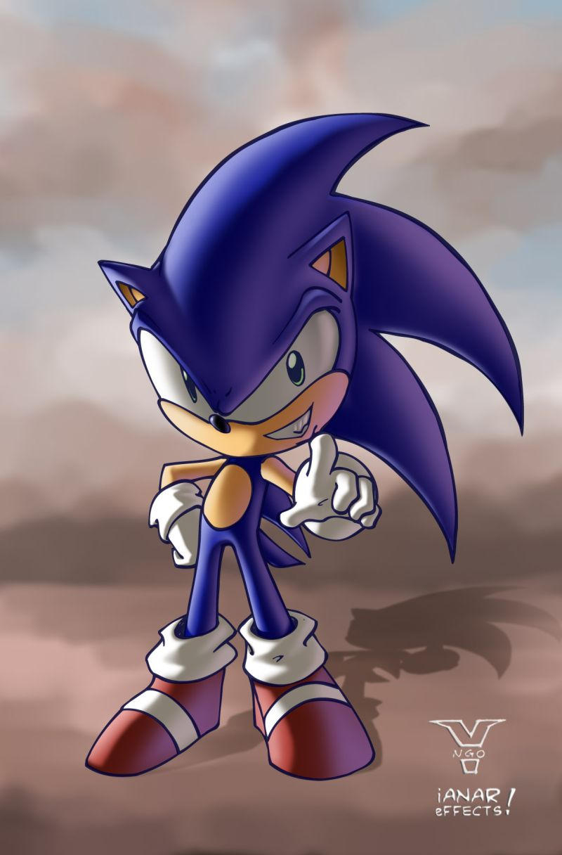 Sonic the Hedgehog by iANAR
