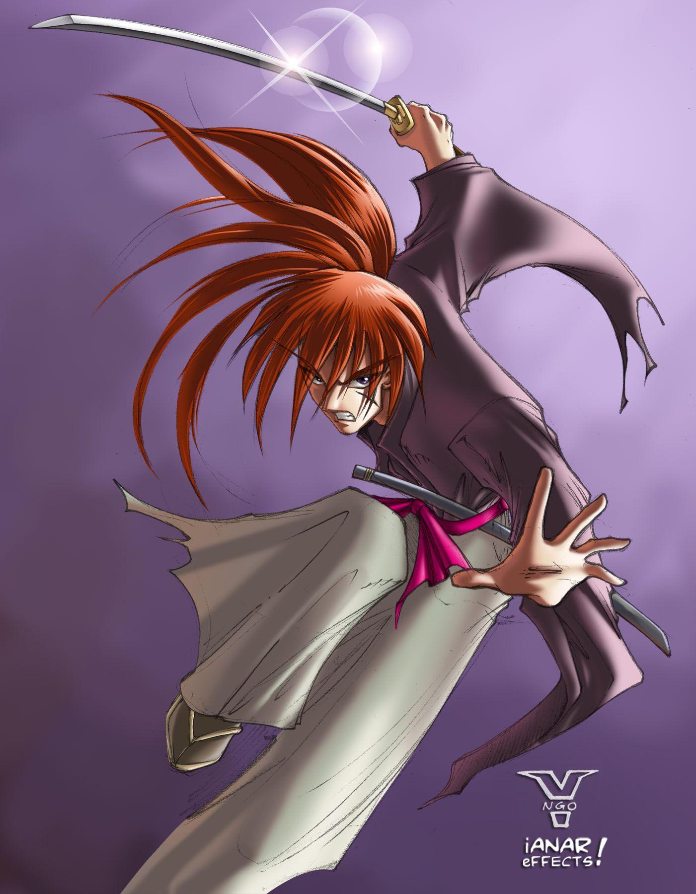 Kenshin Himura by iANAR