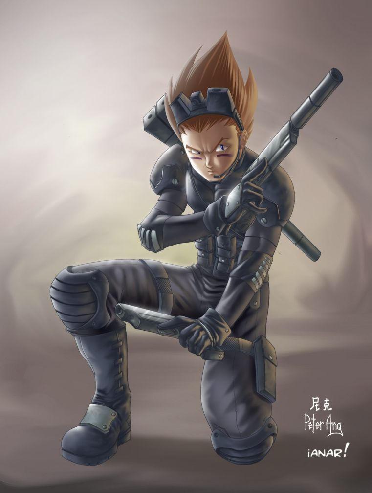 Metal Gear Solid Vegeta by iANAR