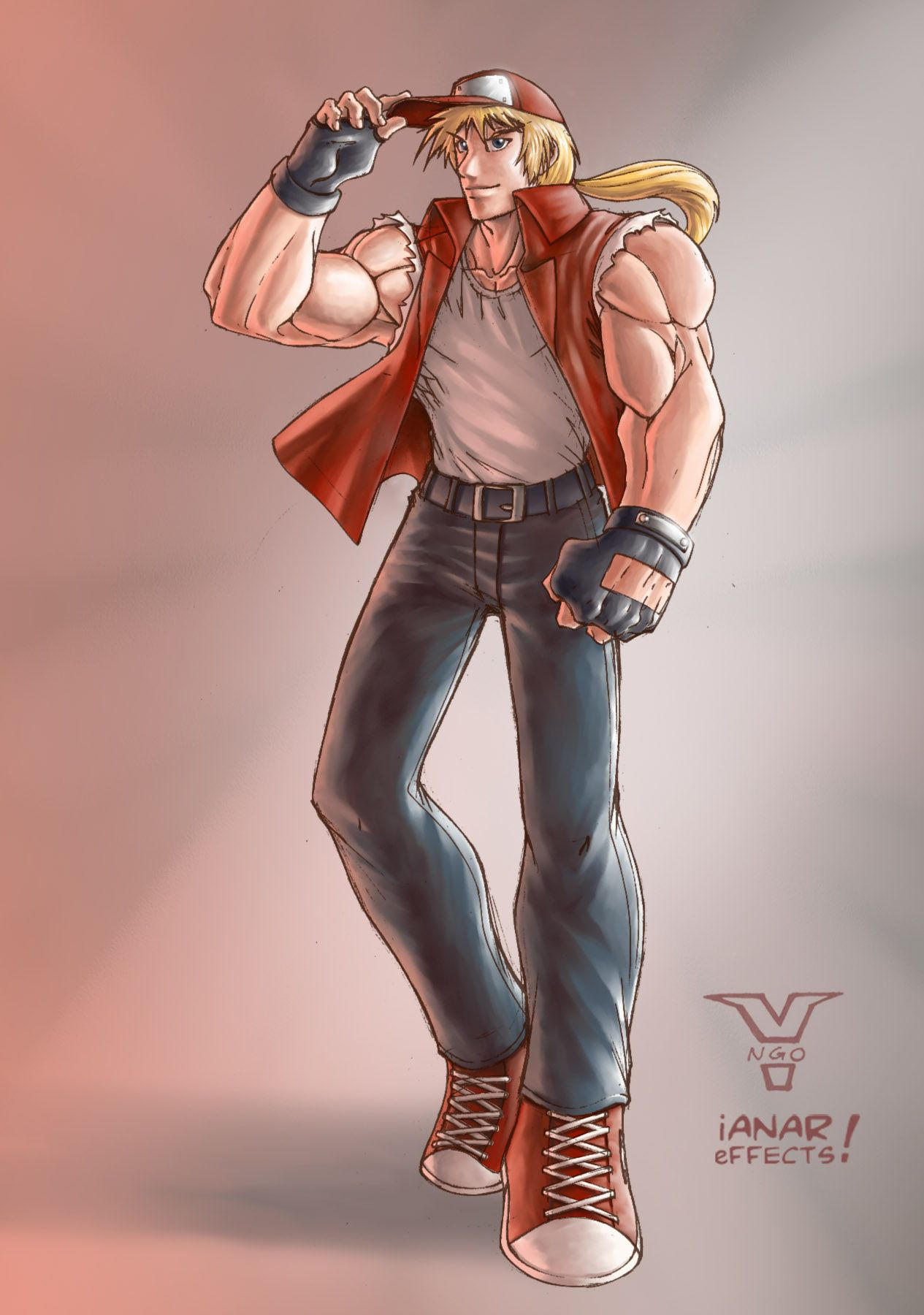 Terry Bogard by iANAR