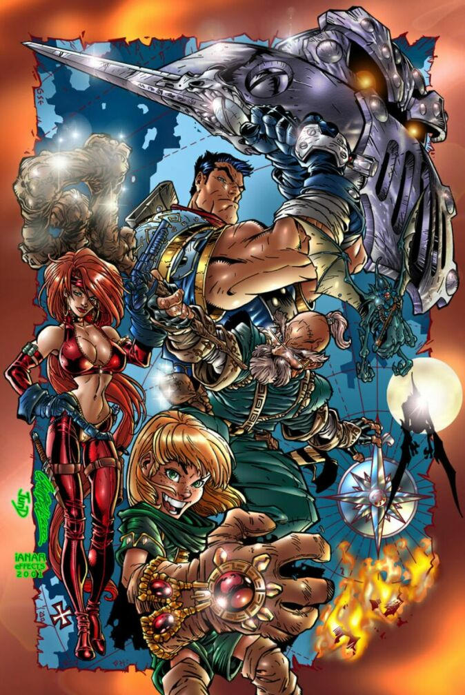 BattleChasers JSC by iANAR