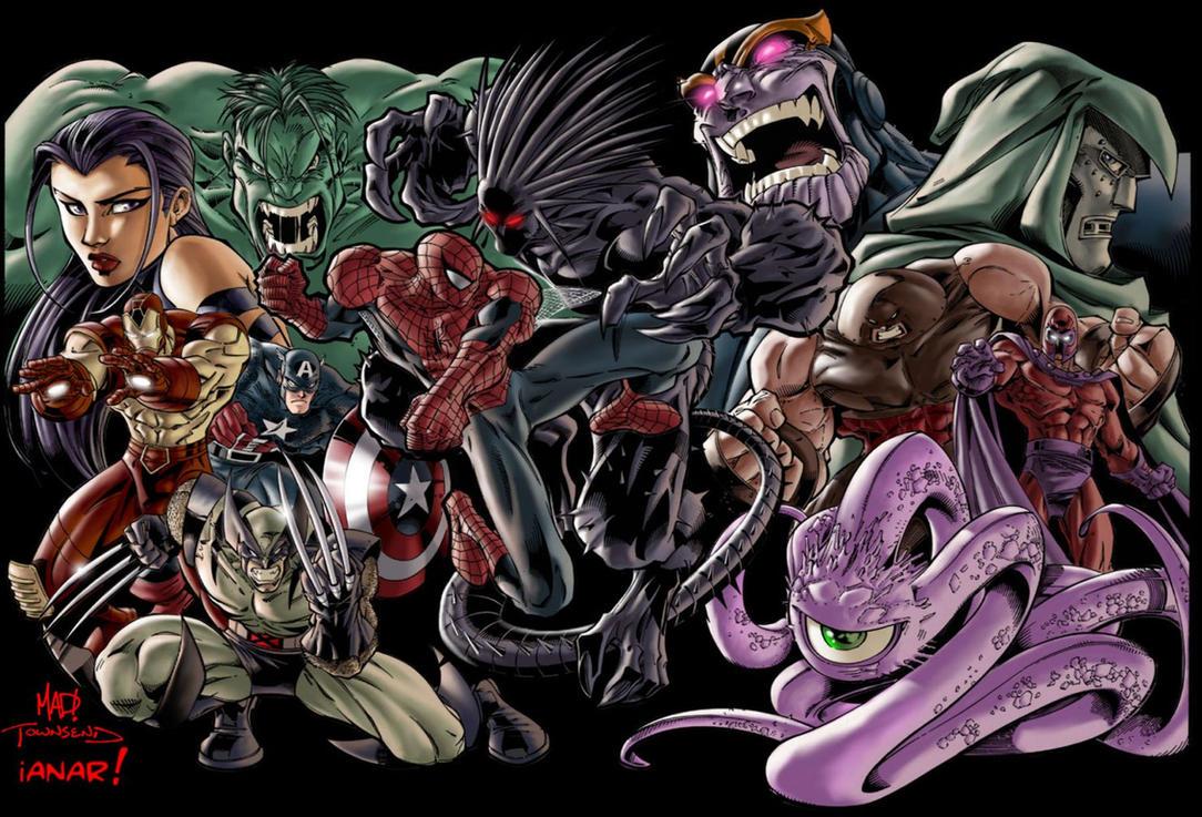 Good Wallpaper Marvel Deviantart - joe_mad__s_marvel_superheroes  Pic_132779.jpg