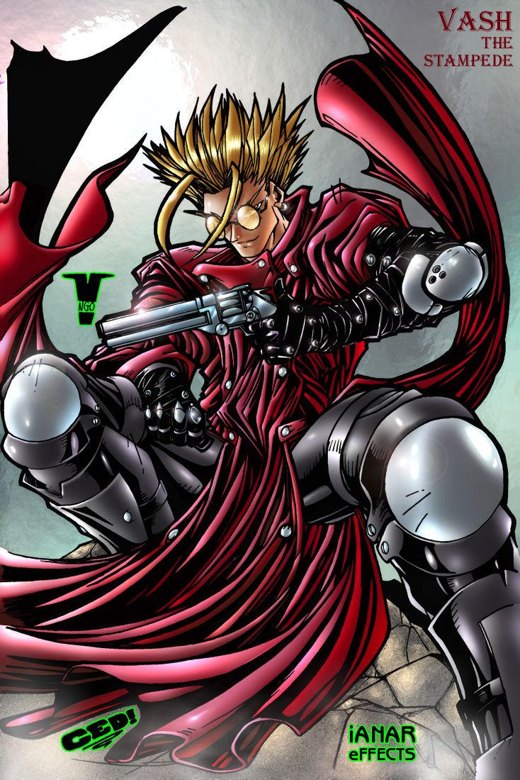 Vash the Stampede by iANAR