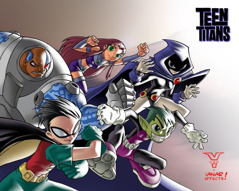 Teen Titans by iANAR