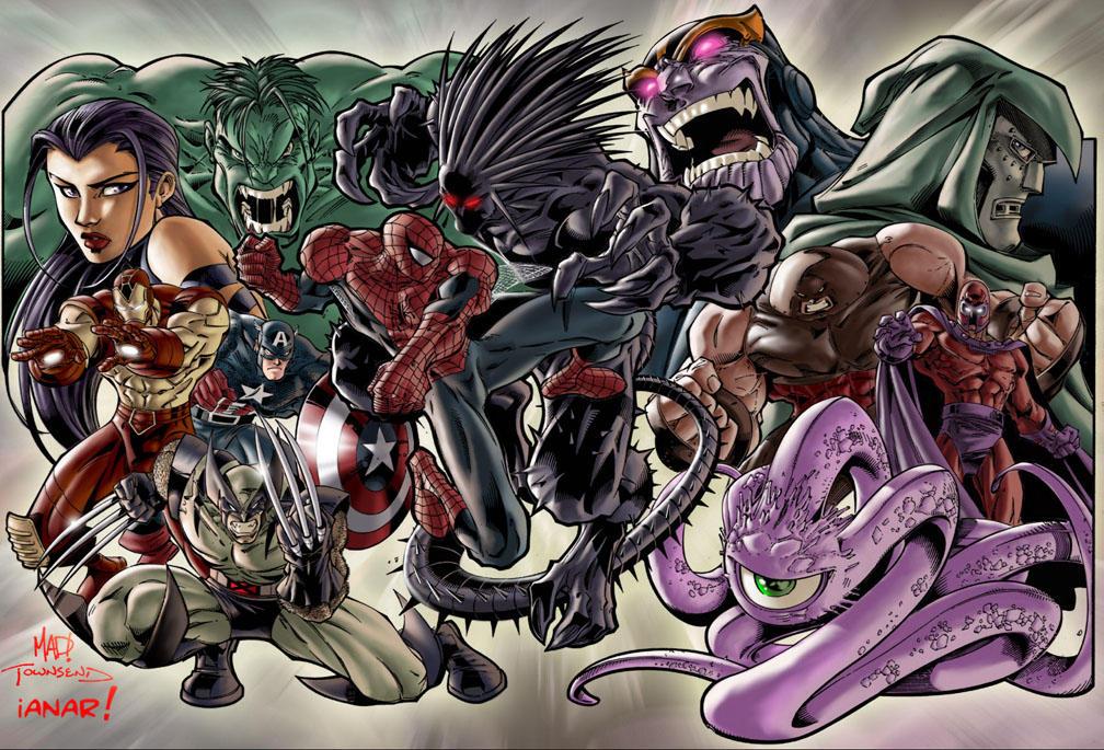 DC Comics/BD US & Super Heroes Marvel_Superheroes_ver_2__