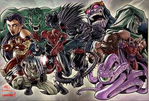 Marvel Superheroes ver 2 by iANAR