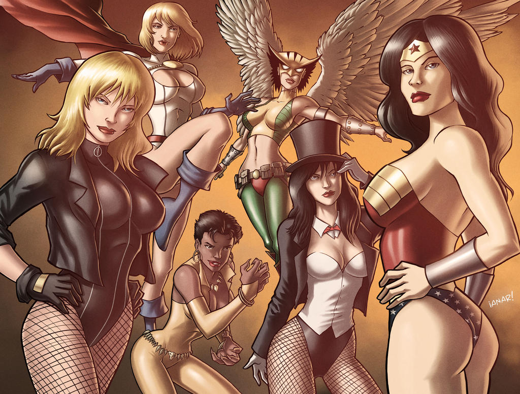 DC Girls iANAR version by iANAR