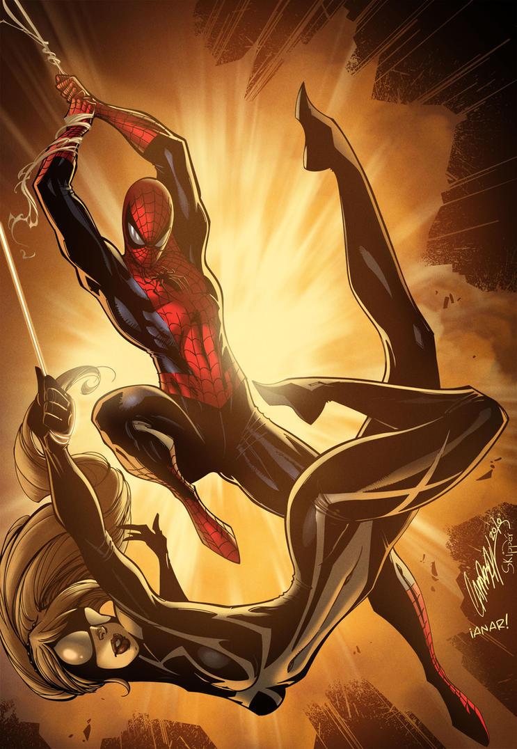 The Amazing Spider-man/Arachne by iANAR