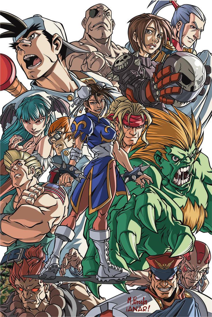Capcom Vector colors by iANAR