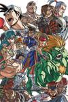 Capcom Vector colors