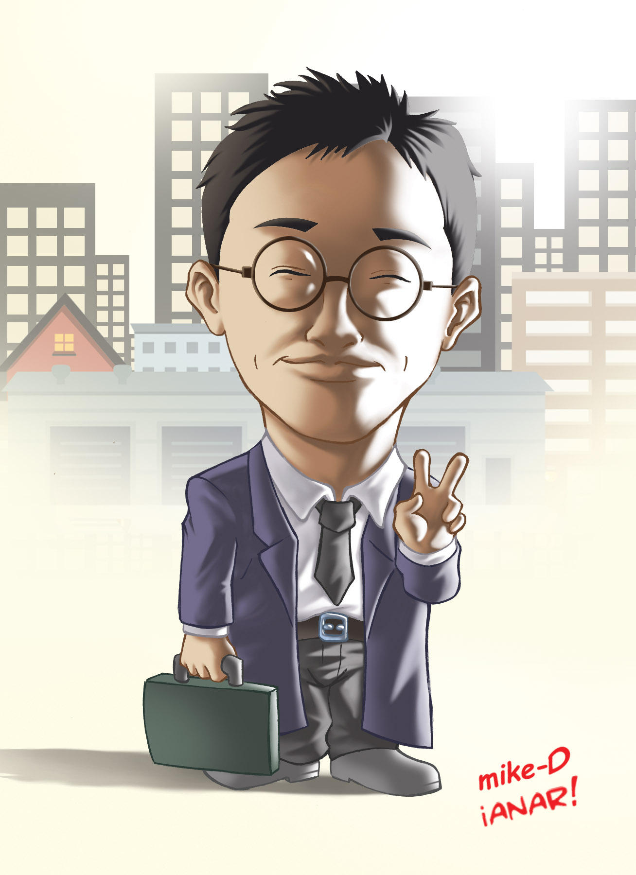 Joshua caricature by iANAR