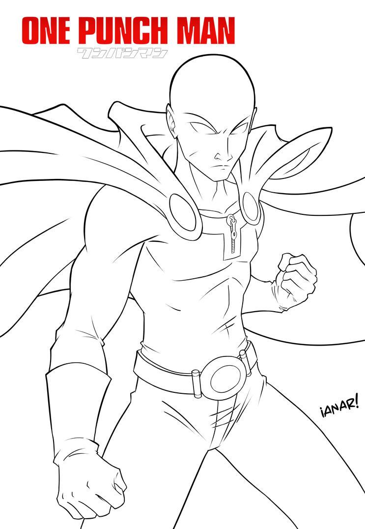 One Punch Man sketch by iANAR