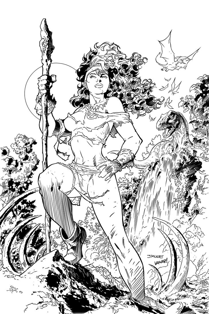 Savageland Rogue inks by iANAR