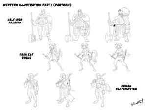 Fantasy Character Design concepts
