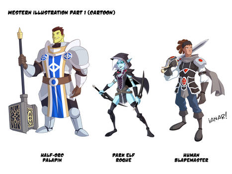 Fantasy Character Design Final