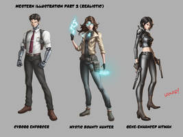 Sci-fi Character Design Concepts
