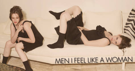 men feel like a woman by ezmephotography