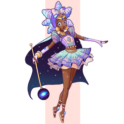 African Magical Girl by starZhelli