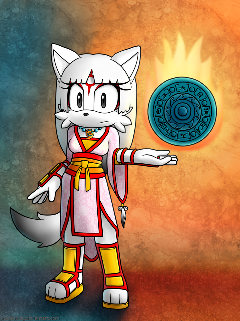 Amaterasu by TrishRowdy