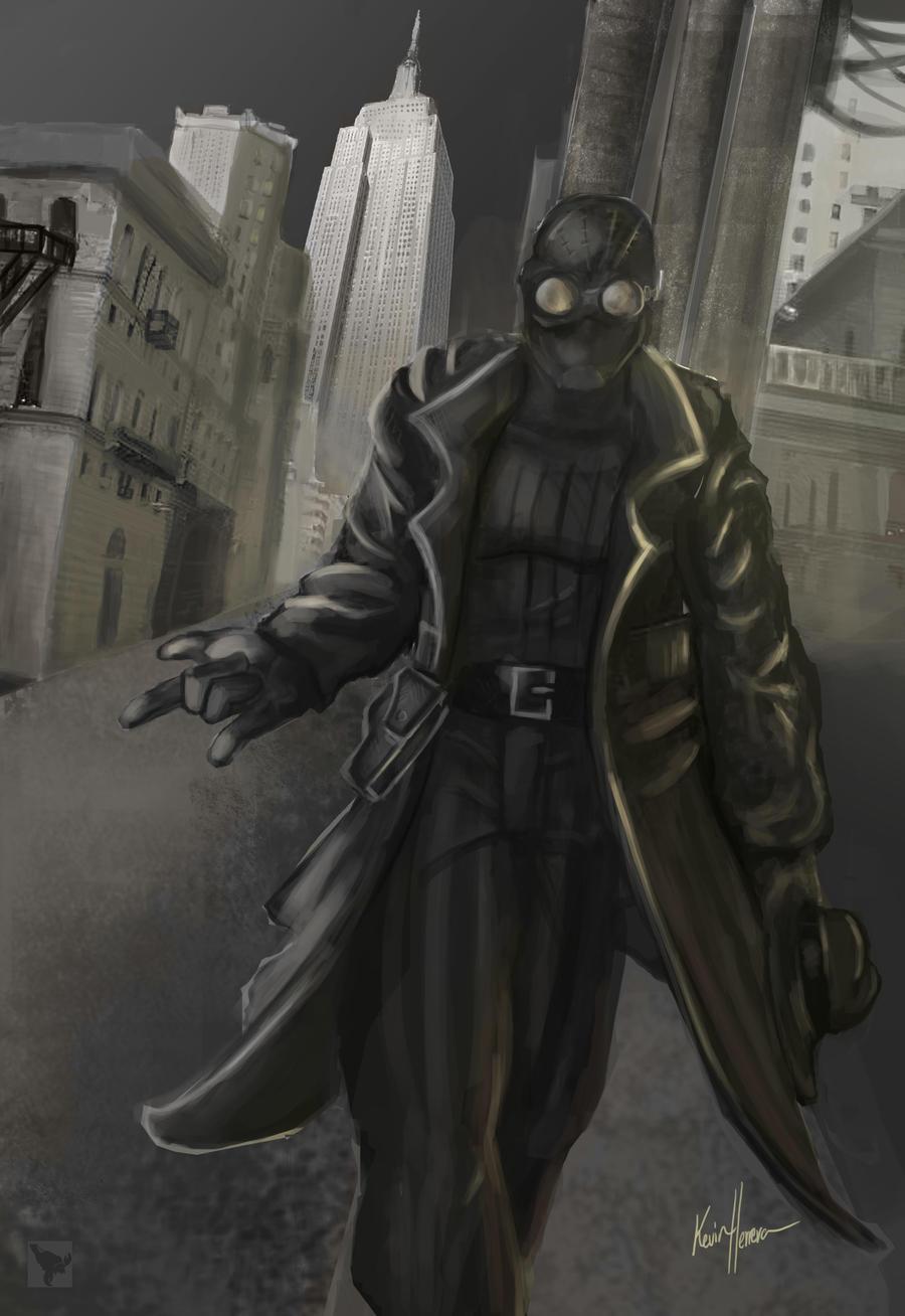 Spider man noir by superhermit on deviantart - Spiderman noir 3 ...