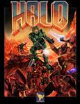 Halo/Doom poster