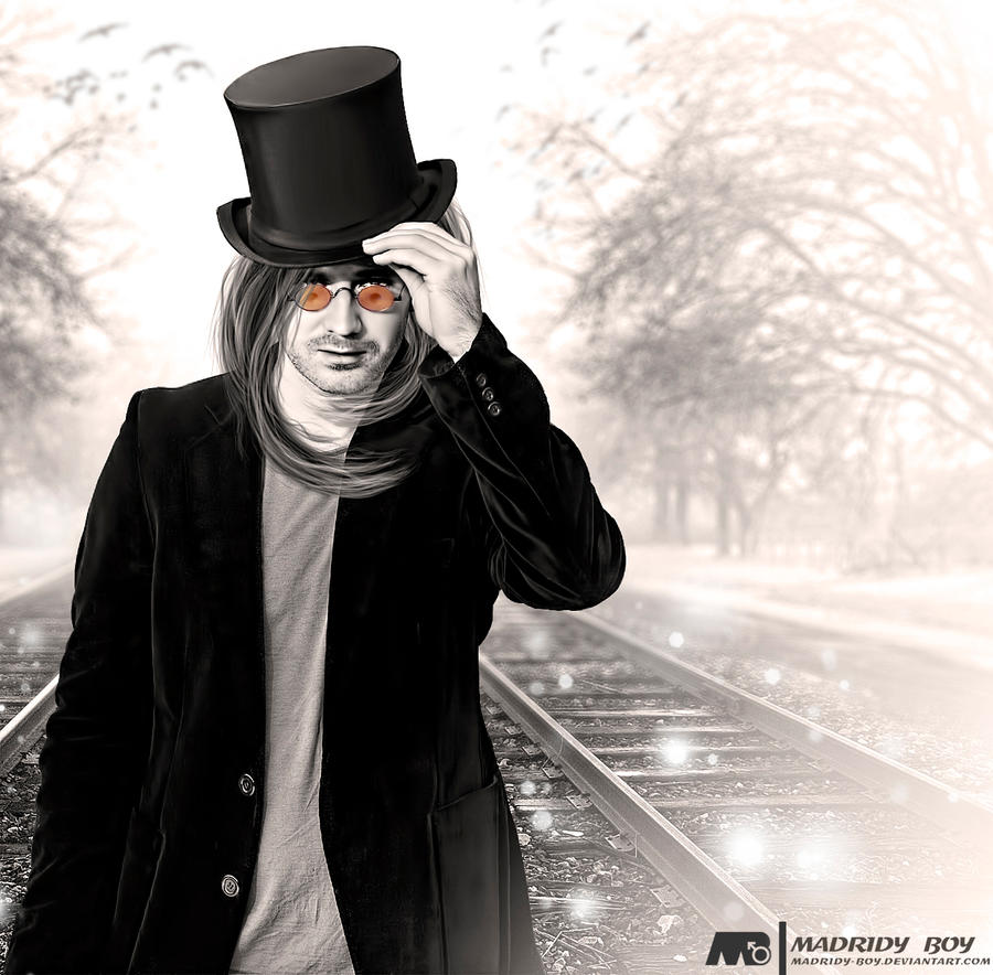 Mystery man by madridy-boy