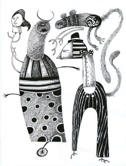 Personajes by tierraboca