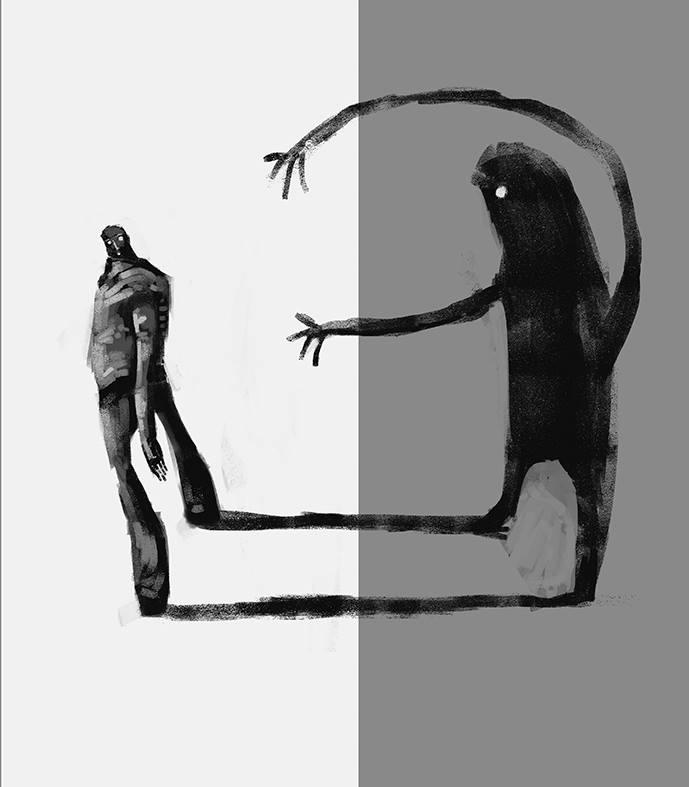 me alcanza mi propia oscuridad,,, by tierraboca