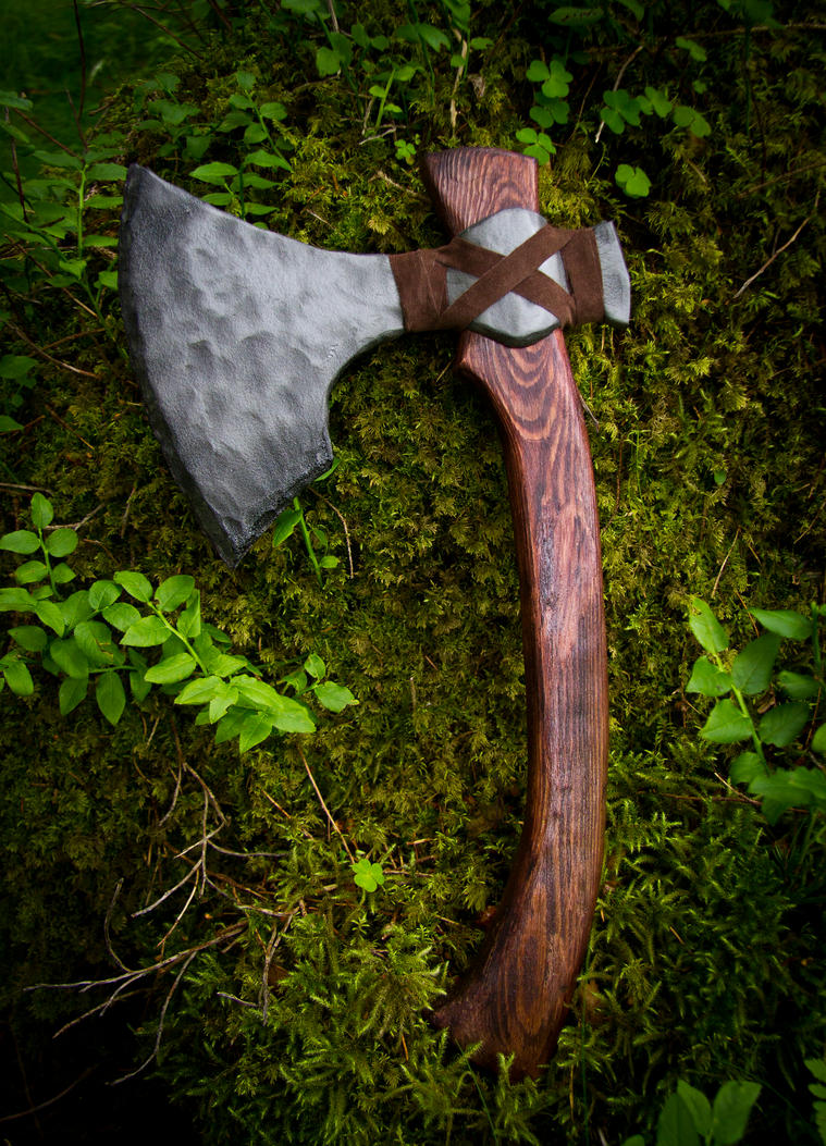 Viking Ax by vonniesau