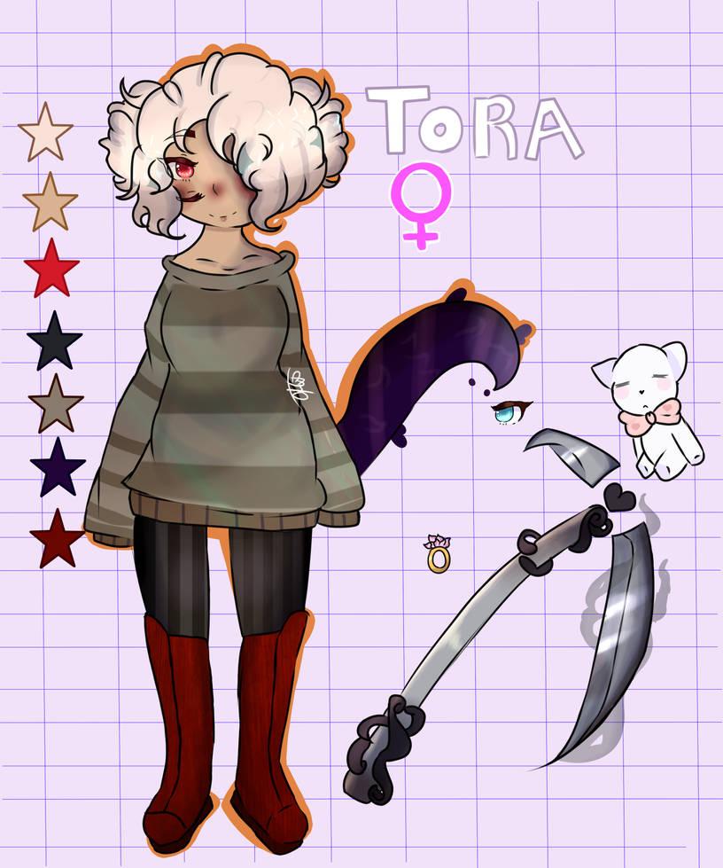 ficha Tora by XxAnitaDibujaXx