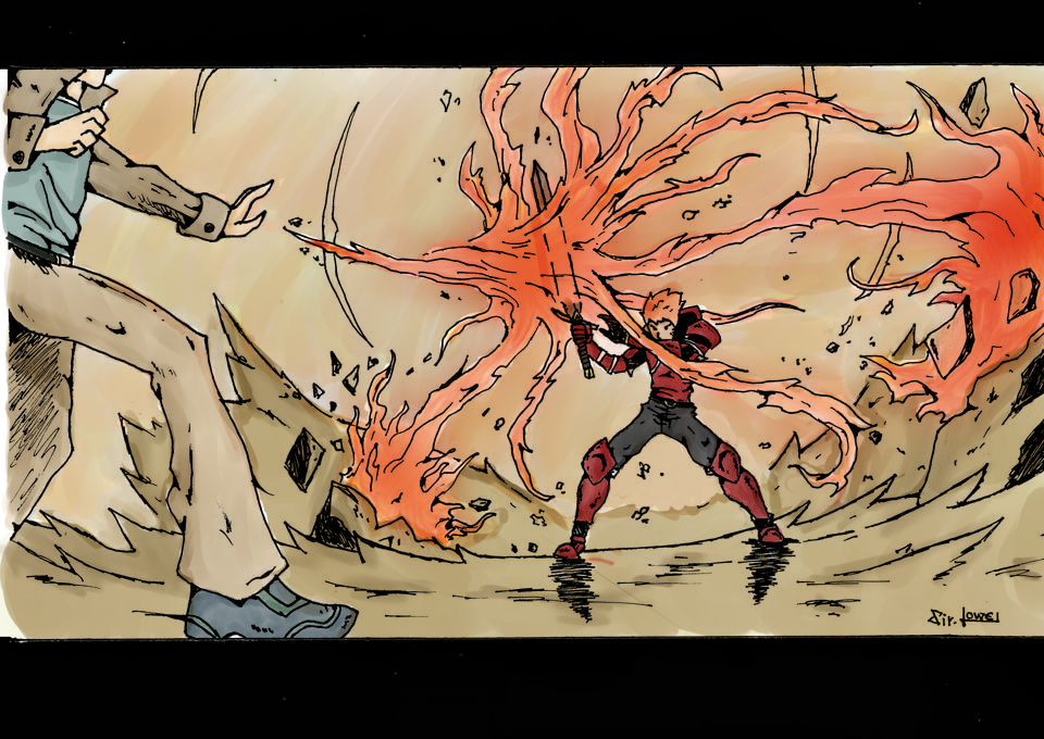 Fight 2 by 123nukume
