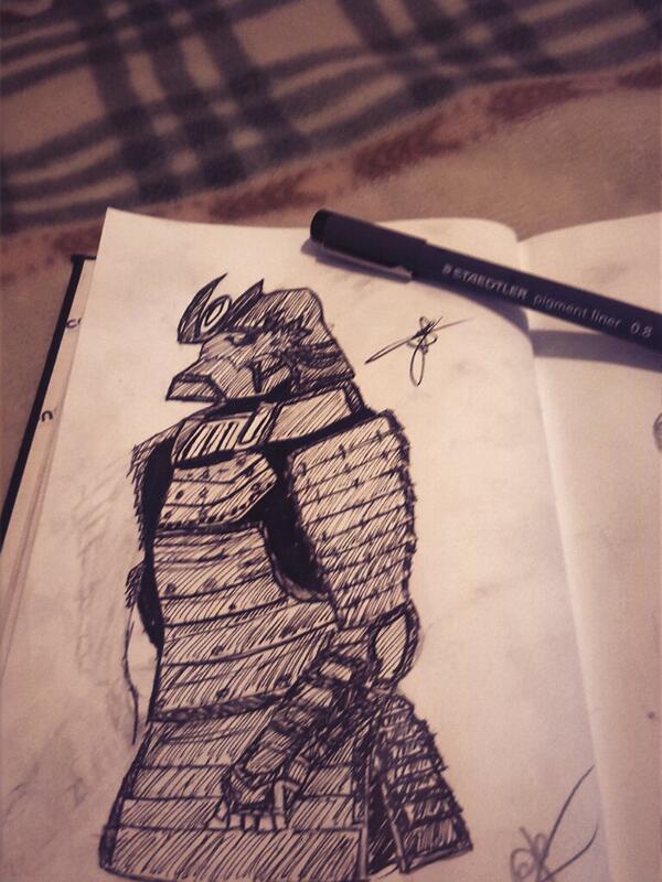 Samurai by 123nukume