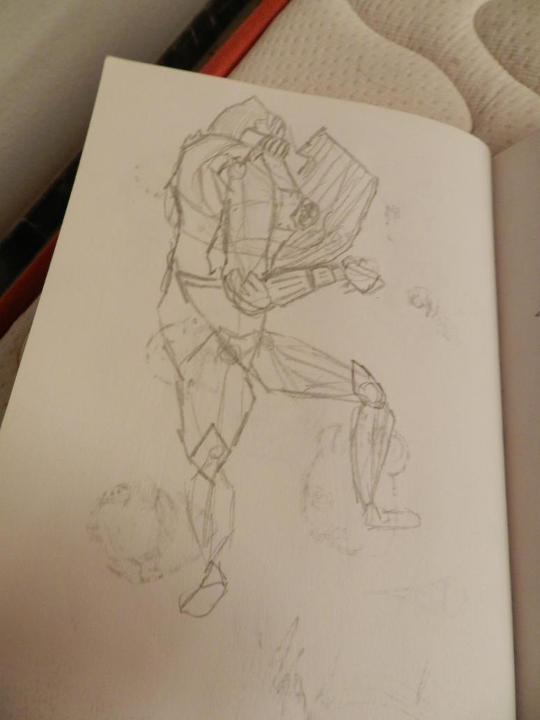 Guardian sketch by 123nukume