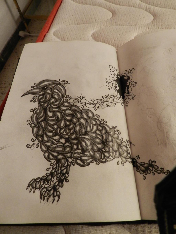 Crow by 123nukume