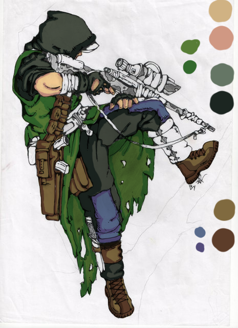 Sniper(in process) by 123nukume