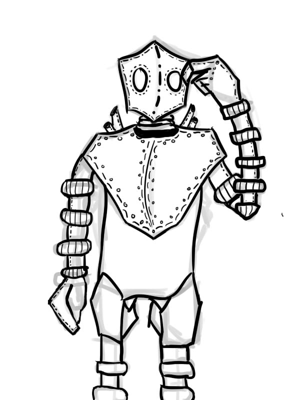 Robot(no finished) by 123nukume