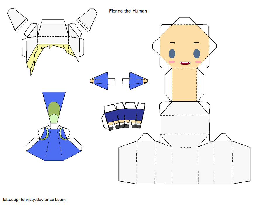 Adventure Time Papercrafts By