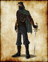 Dungeons and Dragons Rogue Design by 8comicbookman8