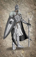 Dungeons and Dragons Paladin Design by 8comicbookman8