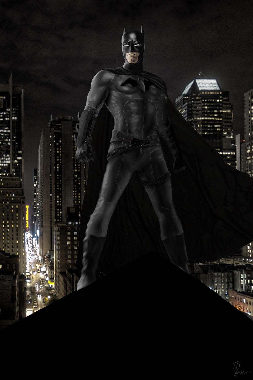 Ben affleck batman manip by 8comicbookman8 on deviantart - Ben affleck batman wallpaper ...
