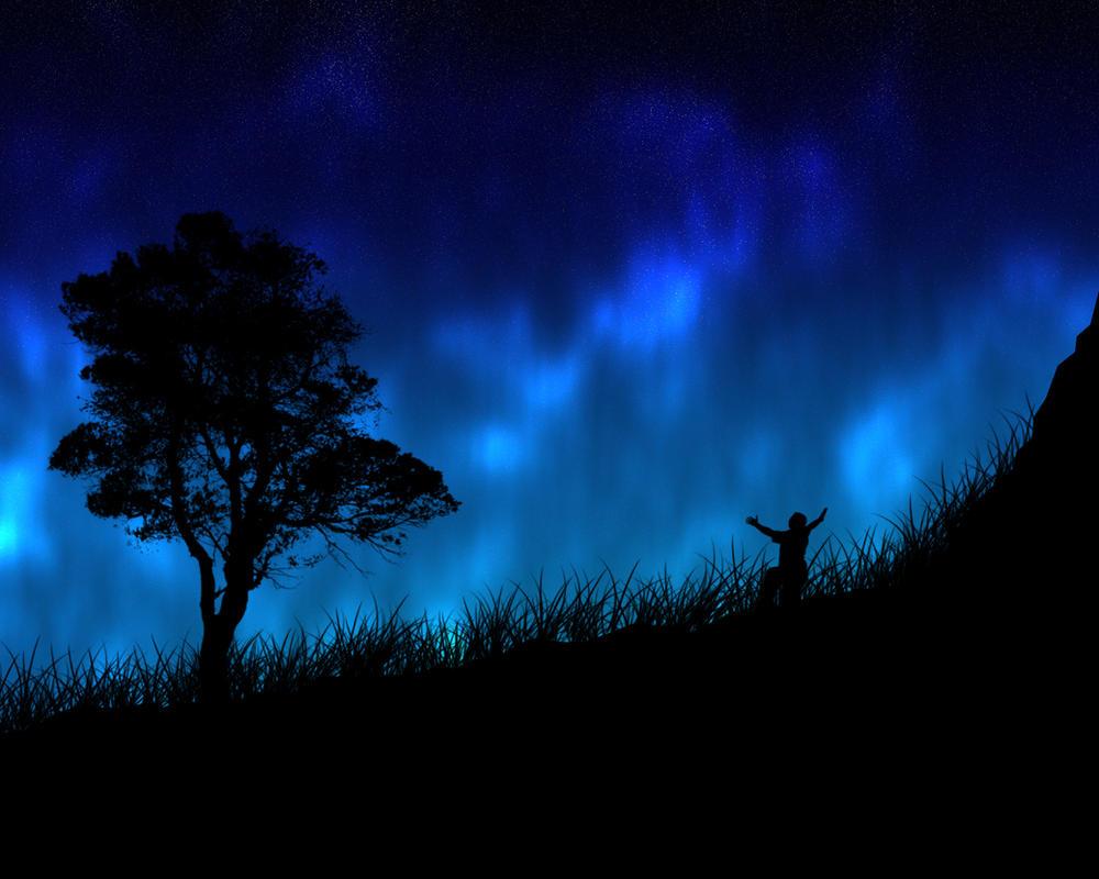 Night Aurora by LuckyHRE
