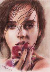 Emma Watson - color pencil