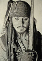 Jack Sparrow by Daviddiaspr