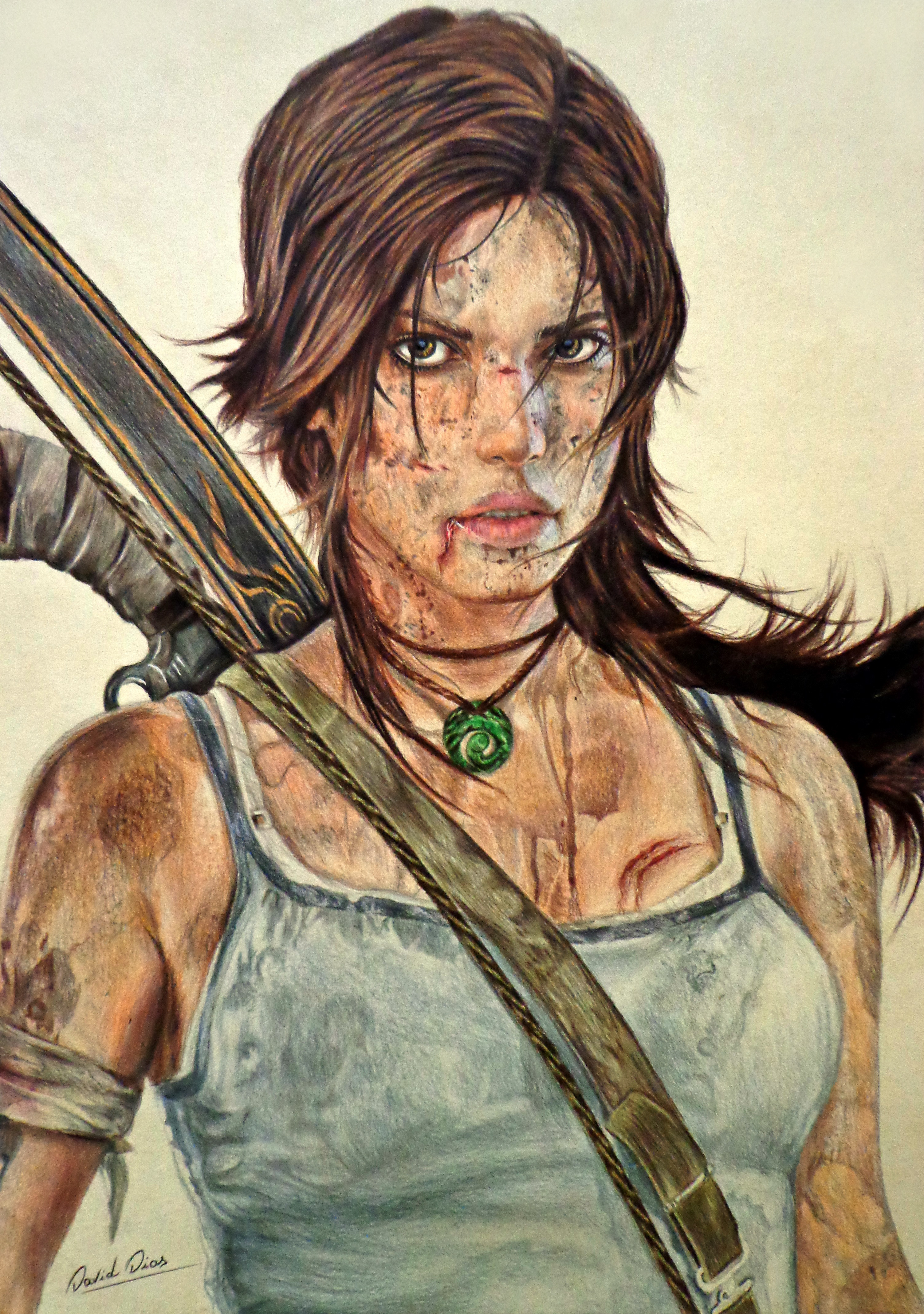 Lara Croft Tomb Raider By Daviddiaspr On Deviantart