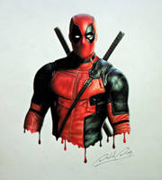 Deadpool by Daviddiaspr