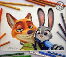 Nick and Judy (Zootopia)