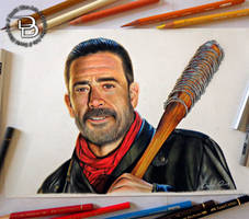 Negan - The Walking Dead by Daviddiaspr