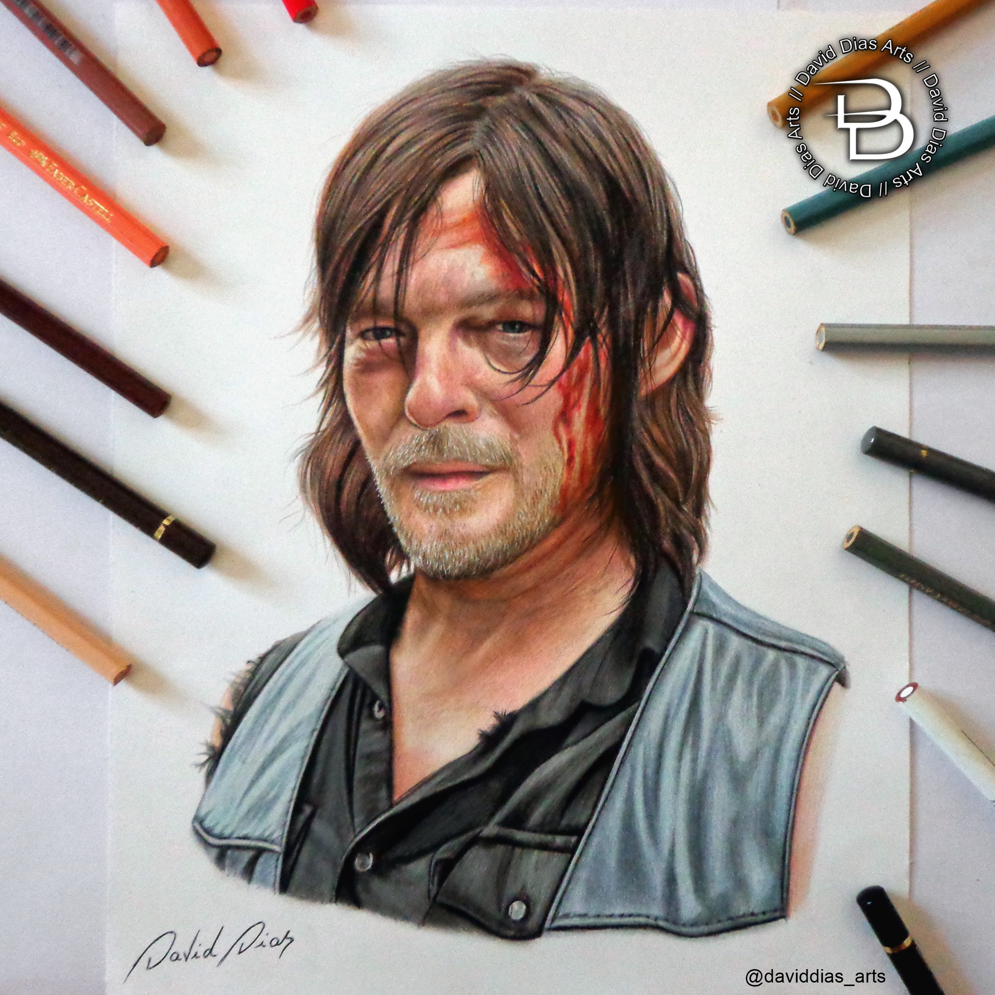 Daryl Dixon By Daviddiaspr On Deviantart