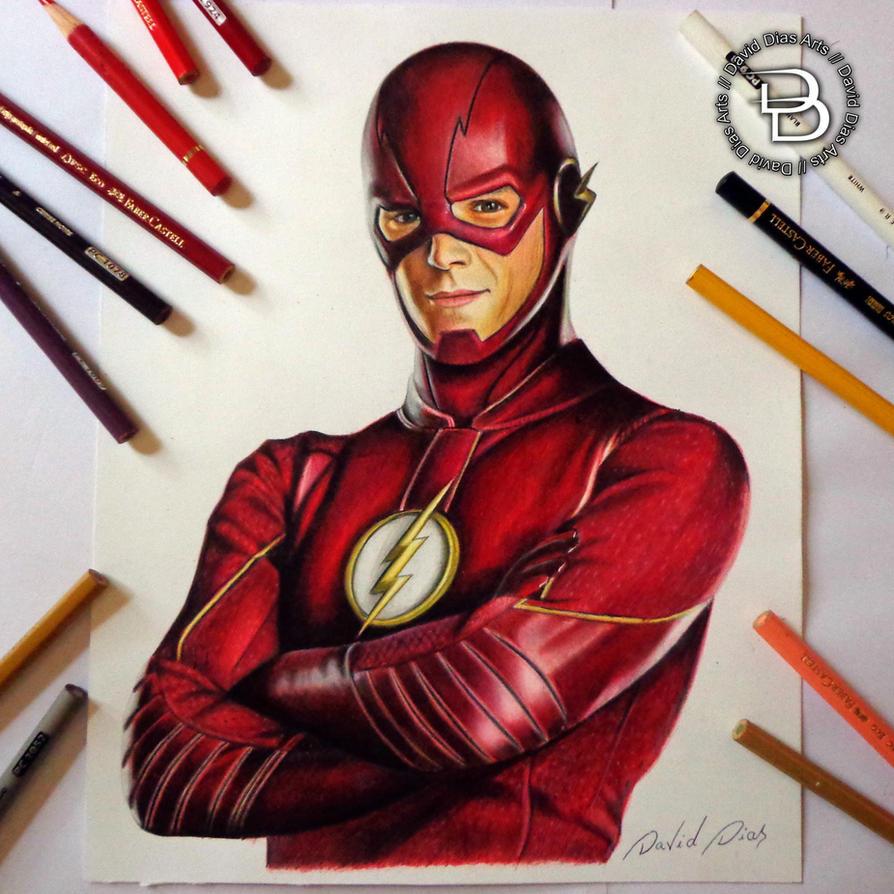 Barry Allen By Daviddiaspr On DeviantArt