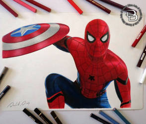 Spiderman - Civil War by Daviddiaspr